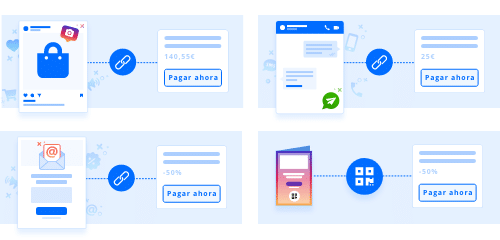 usos de pay by link y pay by qr
